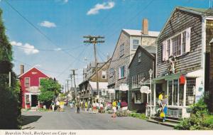 Bearskin Neck , Rockport on Cape Ann , Massachusetts , 50-60s