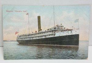 Steamer Horatio Hall Vintage Postcard