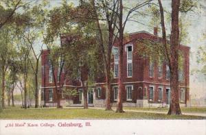 Illinois Galesburg Old Main Knox College Curteich