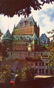 Canada - Quebec, Quebec City. Chateau Frontenac