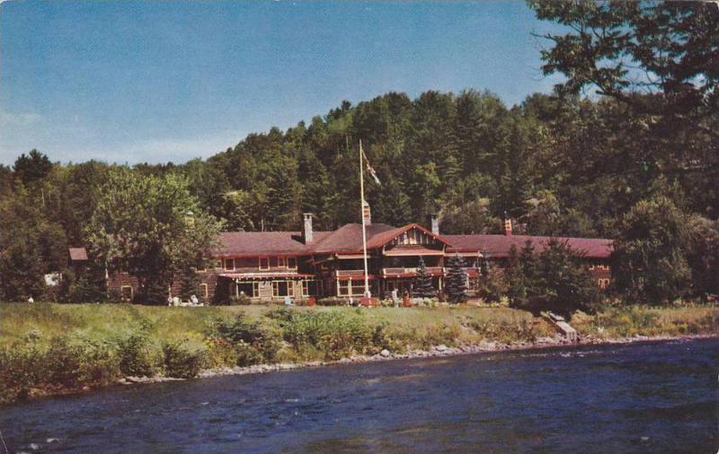 Exterior,  Alpine Inn,  ste. Marguerite Sta.,  Quebec, Canada,  PU_1958