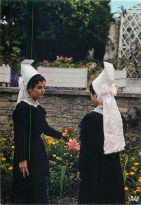 Ethnic Traditions Folklore Postcard Costume Traditionell La Normandie