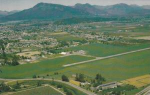 Aerial View of District of Chilliwack, British Columbia, Canada, 40-60´s
