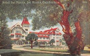 HOTEL DEL MONTE Del Monte, CA Monterey County c1910s Vintage Postcard