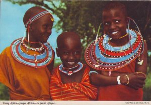 Kenya Post Card - Young Africa