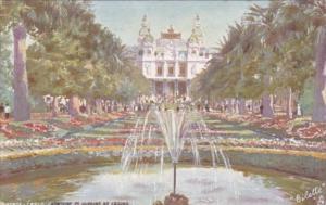 Monaco Monte Carlo Fontaine et Jardins du Casino Tucks