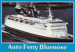 CN Marine Ferry BLUENOSE, Yarmouth, Nova Scotia to Bar Harbor, Maine