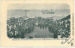 VINTAGE POSTCARD: SIERRA LEONE: FREETOWN - NICE! 1903