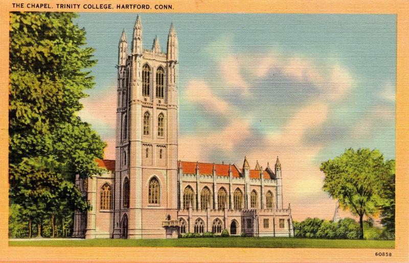 CT - Hartford. Trinity College, The Chapel
