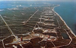 Overall aerial view of missile row looking north Florida, USA Space Unused