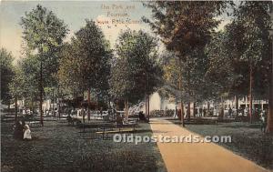 The Park and Fountain Savin Rock, Connecticut, CT, USA USA 1912