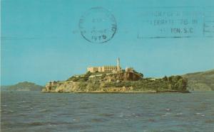 SAN FRANCISCO, California, 1975; Alcatraz Island