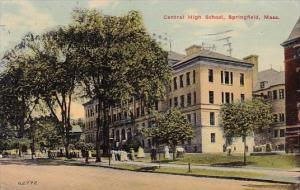 Central High School Springfield Massachusetts 1913