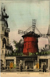 CPA PARIS Le Moulin Rouge (971056)