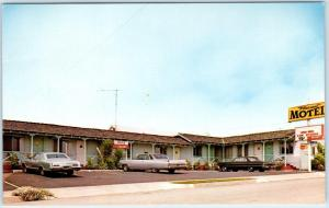 MORRO BAY, California  CA   Roadside  PLEASANT MOTEL  ca 1960s-70s    Postcard