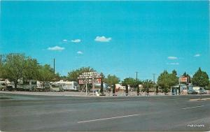 1960s DEMING NEW MEXICO Martin's Trailer Park Schaaf postcard 1982