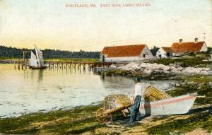 ME - Portland. East Side Long Island
