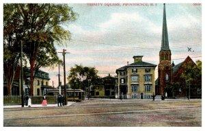 Rhode Island  Providence   Trinity Square