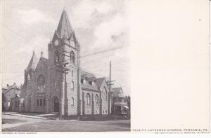 PERKASIE, Pennsylvania, 00-10s; Trinity Lutheran Church