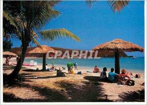 Postcard Modern Beach Noumea New Caledonia