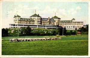 New Hampshire White Mountains Mt Washington Hotel 1909 Detroit Publishing 1909