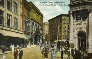 Atlanta, Ga., Whitehall Street looking North from Alabama Street (1909)