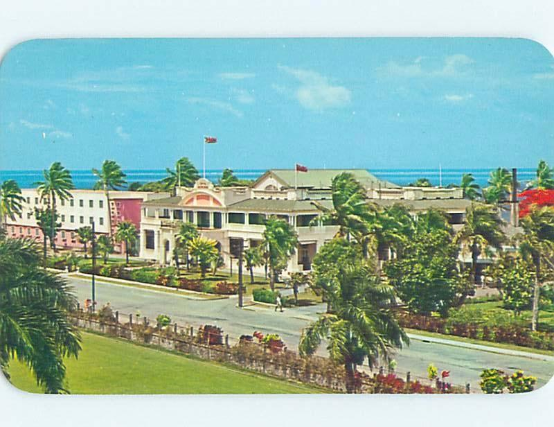 Unused Pre-1980 BEACH SCENE Suva Fiji F6105