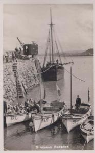 Minehead Harbour Family Boat Tours Seagirl Patrol Boats Real Photo Postcard