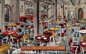 Washington D C Hotel Annapolis Anchor Room 1943
