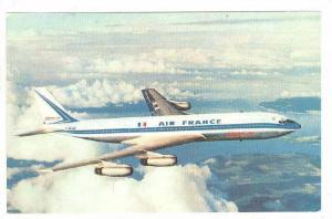 Air France Airlines, Boeing 707 Intercontinental, Airplane, 1960s