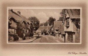 (ak25) Old Village Shanklin - Isle of Wight Postcard