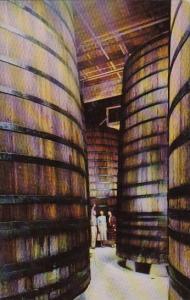 California Asti Redwood Storage Tanks In Cellars Of The Italian Swiss Colony ...