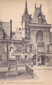 BOURGES, Entree du Palais Jacques-Cour, Cher, France, 00-10s