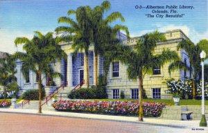 [ Linen ] US Florida Orlando - Albertson Public Library