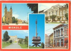 Hungary, MISKOLC, 1985 used Postcard