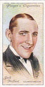Player Cigarette Card Film Stars 2nd Series No 27 Jack Hulbert Gaumont