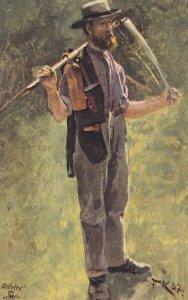TUCK 6611; German Peasant Life , The Harvester , 00-10s