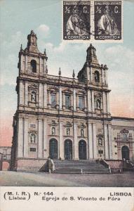 Egreja De S. Vicente De Fora, LISBOA, Portugal, 1900-1910s