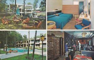 4 Views, Swimming Pool, Restaurant, Room, Hotel-Motel Henri IV, Laurier, Queb...