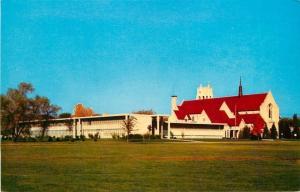 Minneapolis Minnesota~Mount Olivet Lutheran Church on Grassy Hill~1950s Postcard