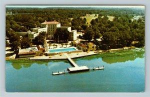 Savannah GA- Georgia, Savannah Inn and Country Club, Vintage Chrome Postcard