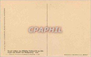 Postcard Old Campf Zwifchen Gebhard III von den Bilchofen Ringen und Arnold V...