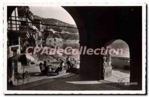 Old Postcard Villefranche-sur-mer docks
