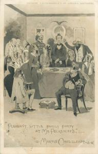 Literature Pleasant Little Family Party at Mr. Pecksniff`s Martin Chuzzlewit