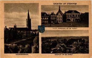 CPA Steenwijk Groeten uit Steenwijk NETHERLANDS (728734)