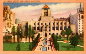 California Los Angeles Public Library