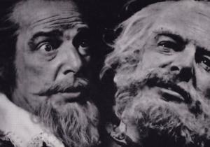 Brewster Mason Falstaff Rare Shakespeare Theatre Company Postcard