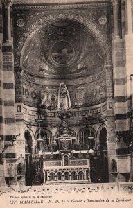 Sanctuaire de la Basilque,Marseille,France BIN