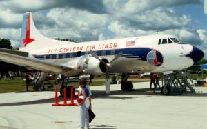 Eastern Airlines - Martin 4-0-4   (Aviation)