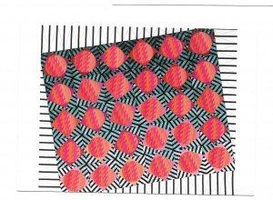 Expo 90 Quilt Exhibition Fabric Gardesn Osaka Japan 4X6 Postcard
